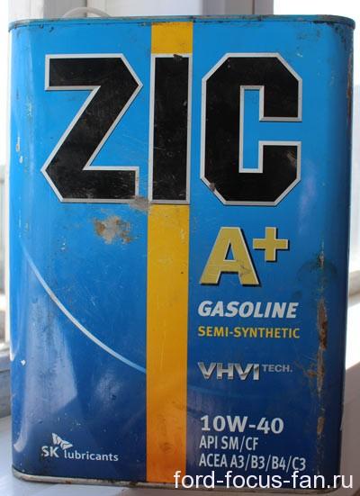 моторное масло зик 10w 40 отзывы цена