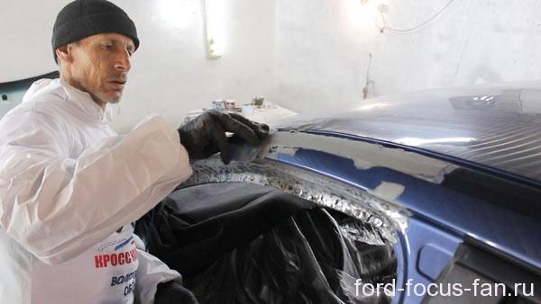 Арби Идирисов - мастер кузовного ремонта. Автор сайта ford-focus-fan.ru