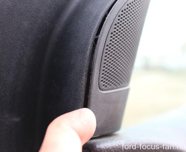 как поменять боковое зеркало форд фокус 2