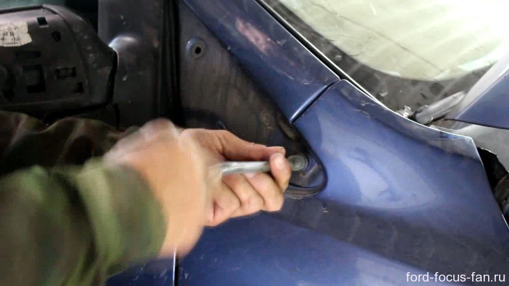 снятие накладки форд фокус 2