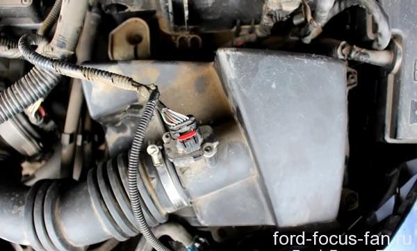Корпус воздушного фильтра форд фокус 2 дорестайл