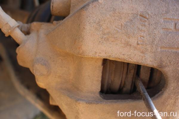 замена шпильки заднего колеса