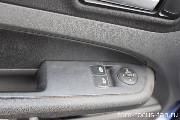 форд фокус снять обшивку двери