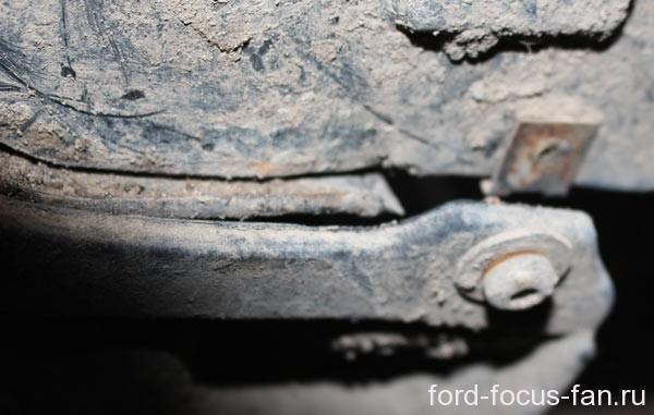 брызговики форд фокус 2