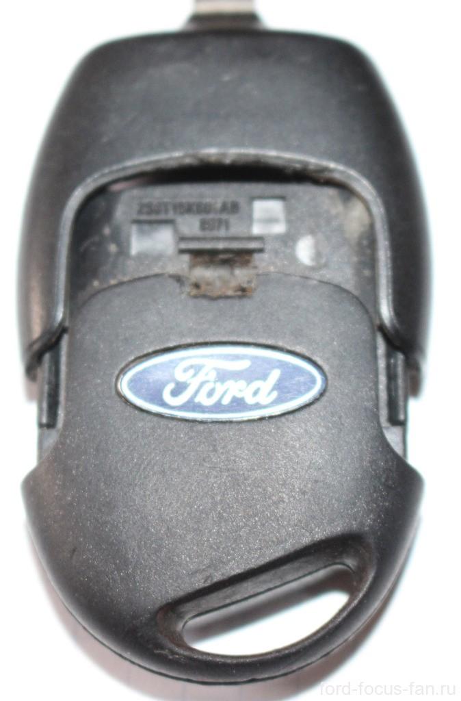 Разборка ключа зажигания форд фокус 2