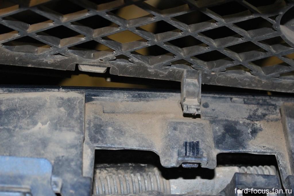 решетка радиатора фф2