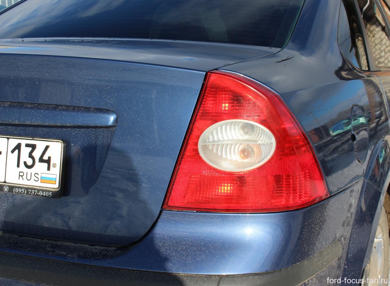 Форд фокус 2 какая лампа подсветки номера 20 фотография