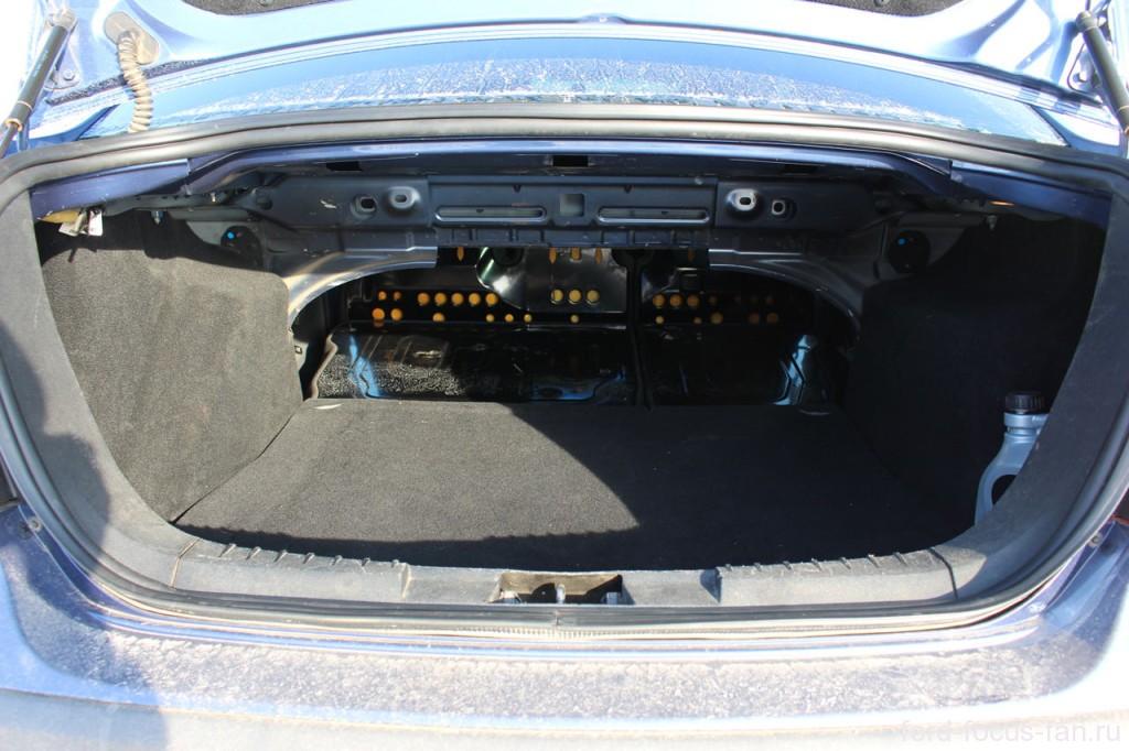 Объем багажника форд фокус 2 седан