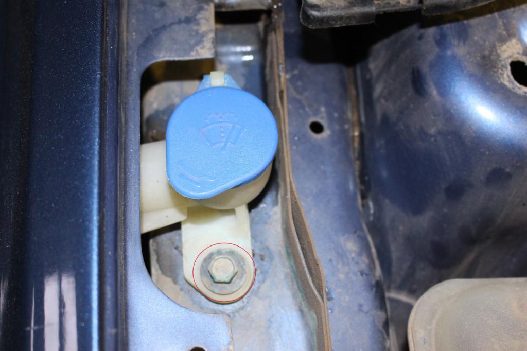 замена заливной горловины форд фокус 2