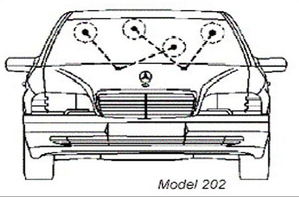 как правильно отрегулировать форсунки омывателя форд фокус 2