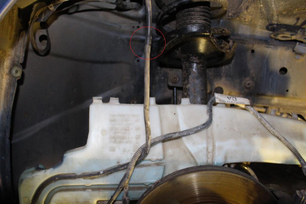 шланг омывателя форд фокус 2