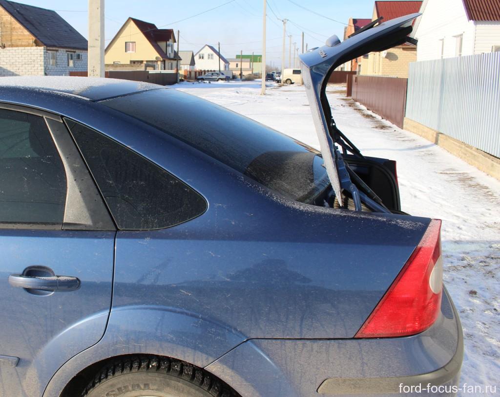 крышка багажника форд фокус седан