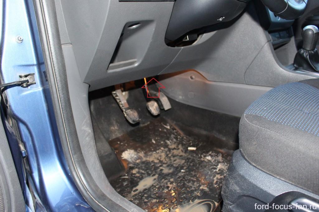 замена фильтра форд фокус
