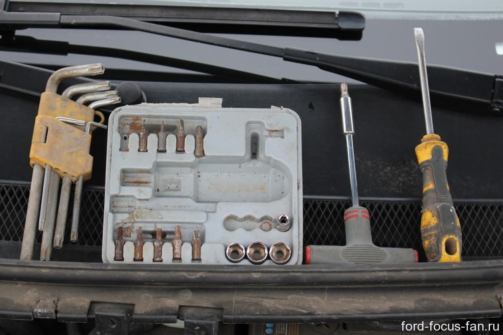 инструмент для снятия дросселя форд фокус 2