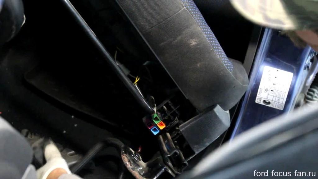 обогрев сидения форд фокус 2