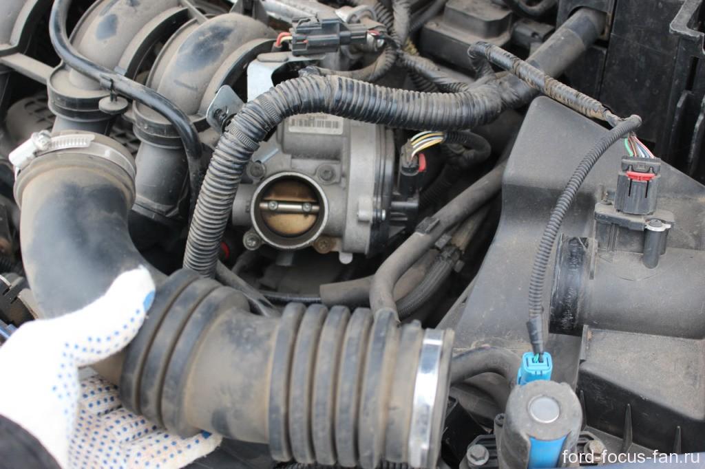 Замена дросселя форд фокус 2