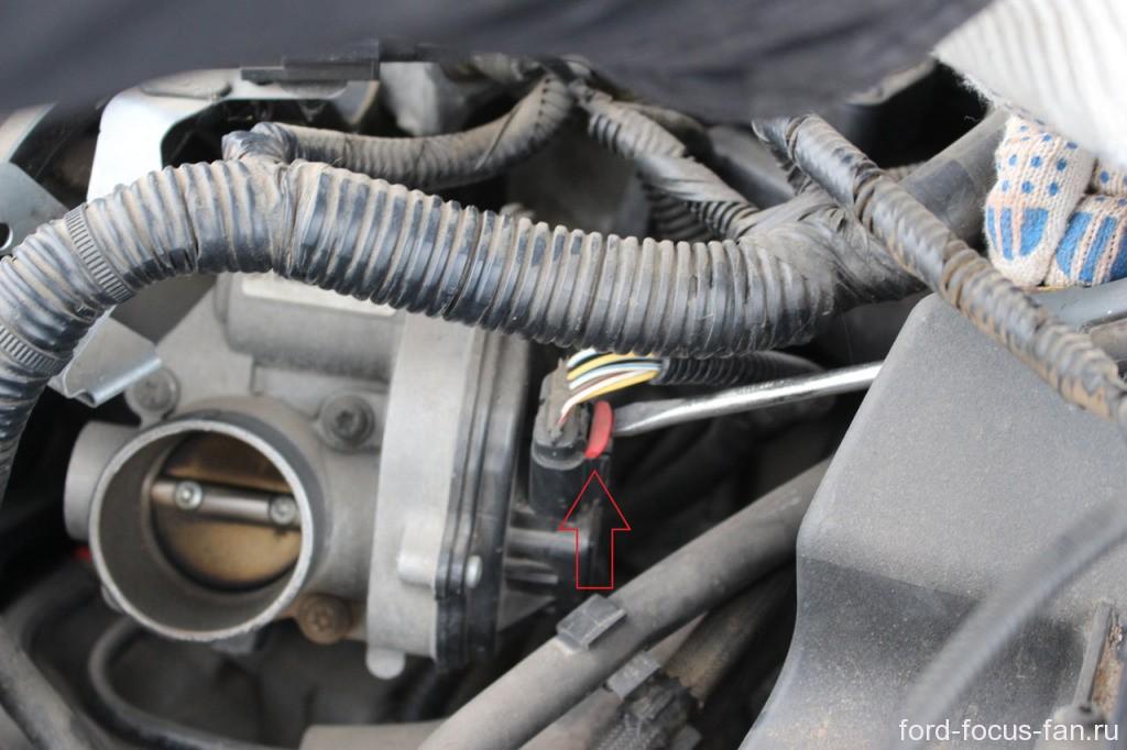 датчик дроссельной заслонки форд фокус 2