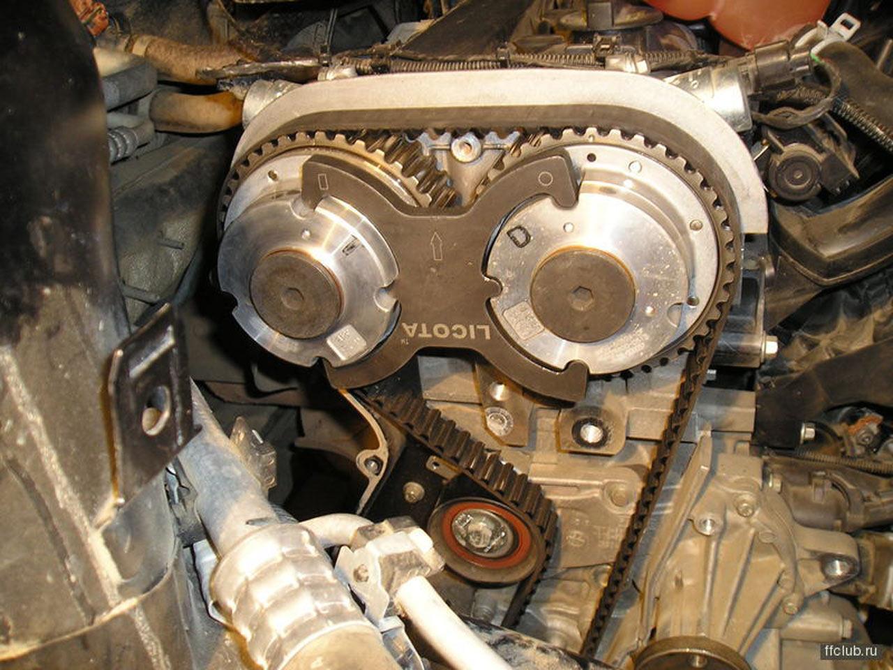 Форд фокус замена распредвалов 145