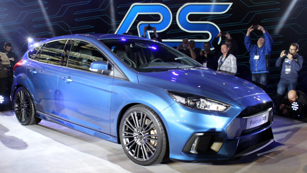 новый форд фокус рс 2015