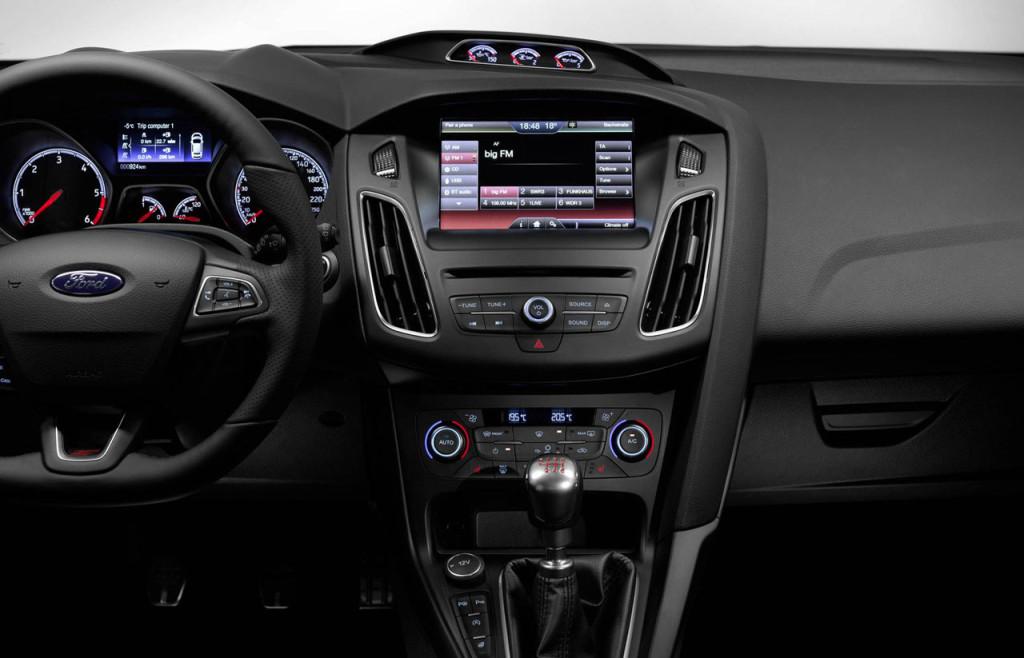 салон нового форд фокус ст 2015