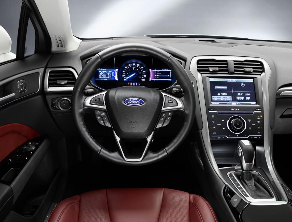 интерьер форд мондео 5 2015