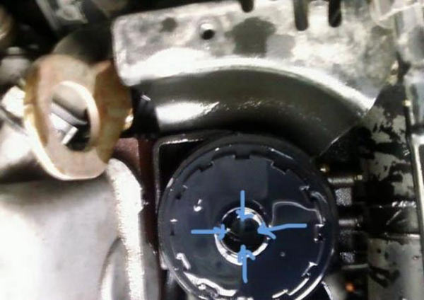 Replacing the diesel filter