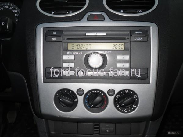 замена штатной магнитолы форд фокус 2