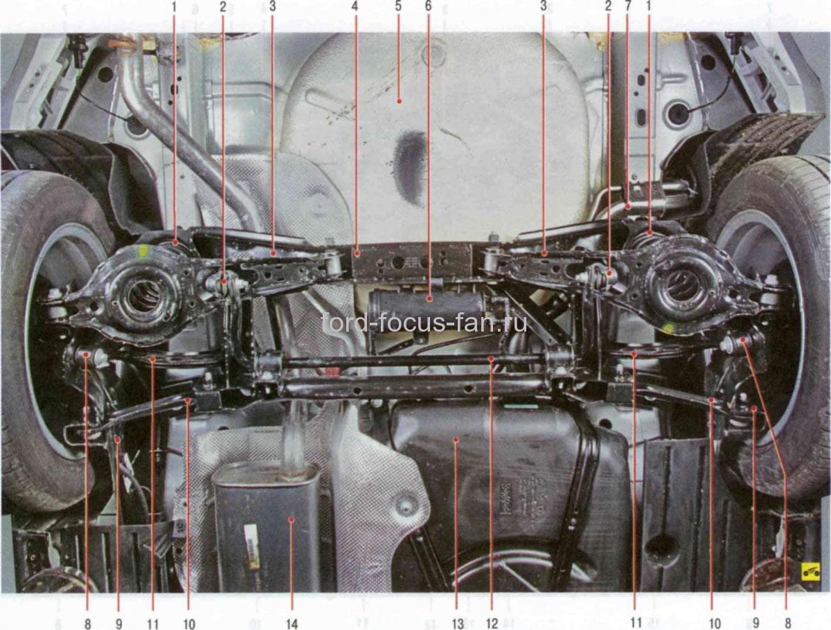 Фото передняя подвеска форд фокус 2 схема ремонт