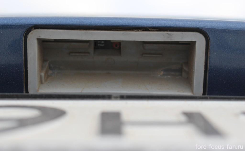 замена кнопки открывания крышки багажника форд фокус 3